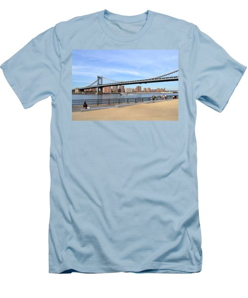Manhattan Bridge1 Men's T-Shirt (Athletic Fit)