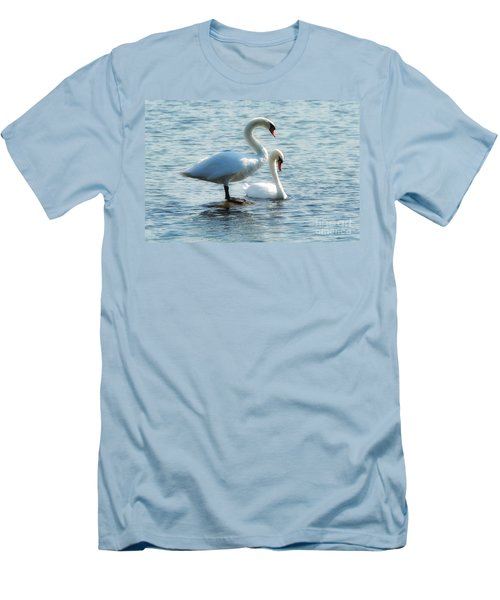 Mating Pair Men's T-Shirt (Athletic Fit)