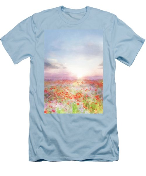 Meadow Flowers Men's T-Shirt (Athletic Fit)