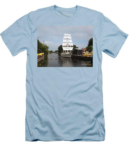 Merdijanas. Klaipeda. Lithuania. Men's T-Shirt (Slim Fit) by Ausra Huntington nee Paulauskaite
