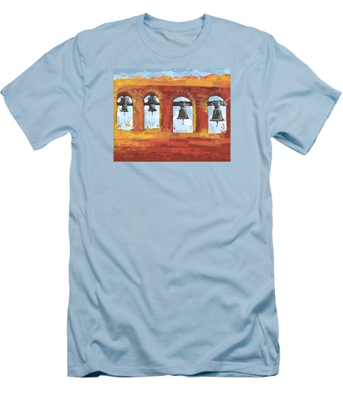 Morning Mission Bells Men's T-Shirt (Athletic Fit)