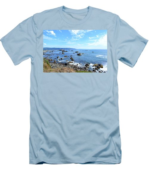 Northern California Coast3 Men's T-Shirt (Athletic Fit)
