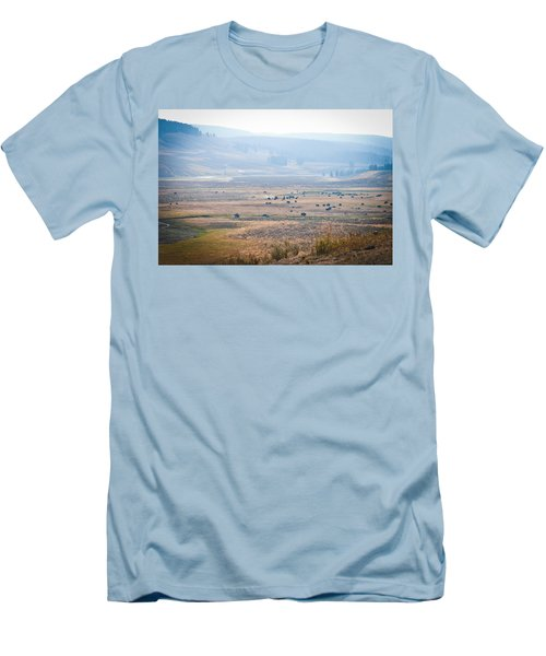 Men's T-Shirt (Slim Fit) featuring the photograph Oh Home On The Range by Cheryl Baxter