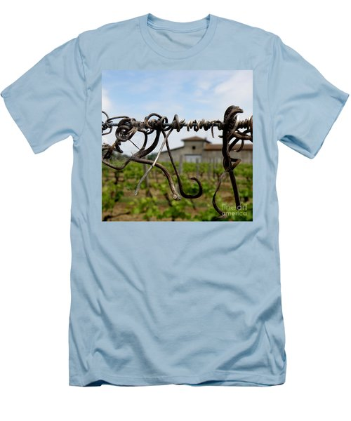 Men's T-Shirt (Slim Fit) featuring the photograph Old And New  by Lainie Wrightson