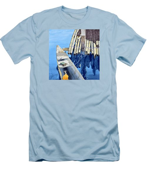 Old Wood Boat Men's T-Shirt (Athletic Fit)