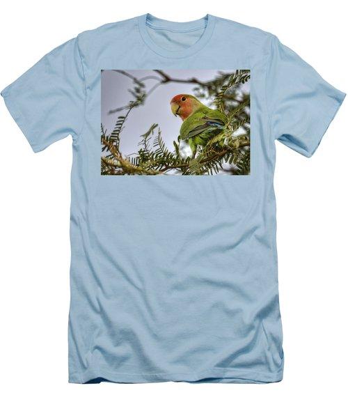Over My Shoulder  Men's T-Shirt (Slim Fit)