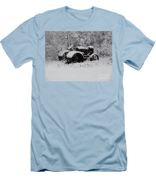 Men's T-Shirt (Slim Fit) featuring the photograph Robed In White by Christian Mattison
