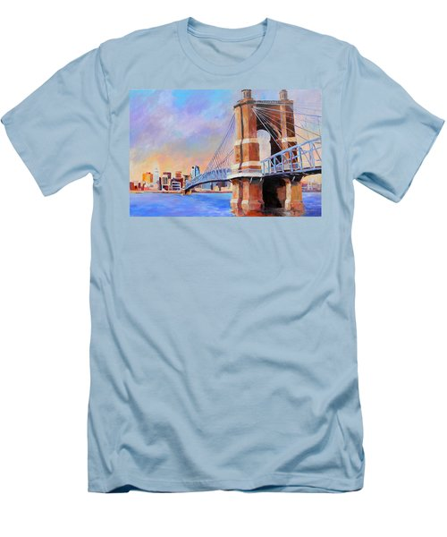 Roebling Twilight Men's T-Shirt (Athletic Fit)