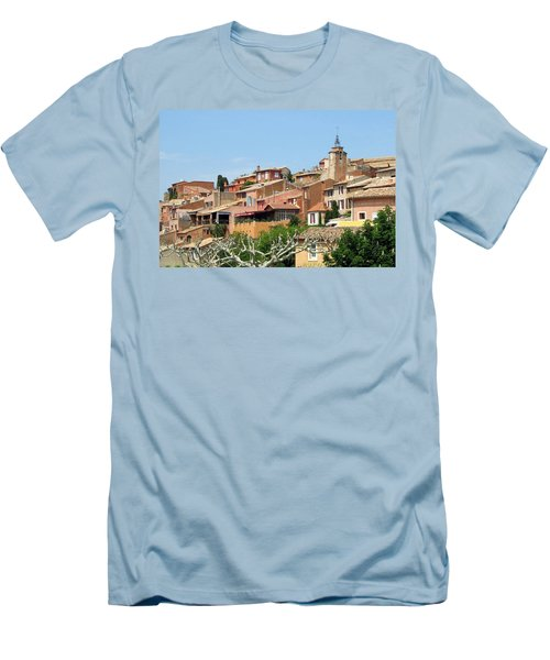 Roussillon In Provence Men's T-Shirt (Slim Fit) by Carla Parris