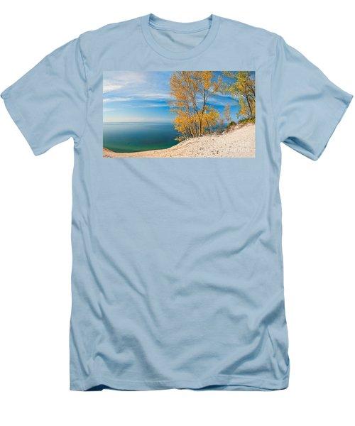 Sleeping Bear Dunes Vista 001 Men's T-Shirt (Athletic Fit)
