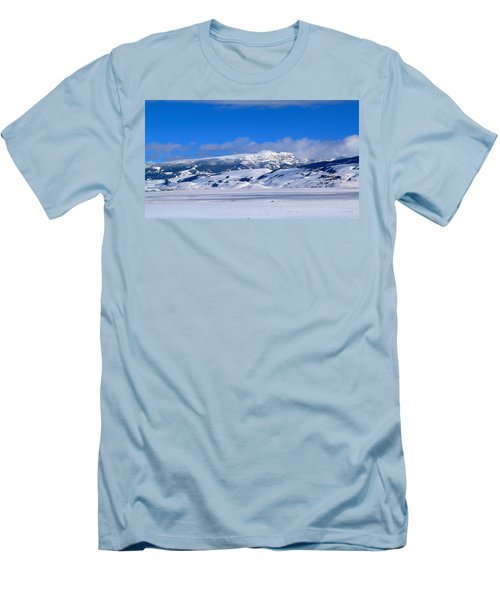 Men's T-Shirt (Slim Fit) featuring the photograph Sleeping Indian by Eric Tressler
