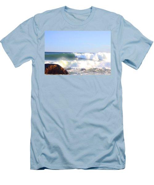 Snake Hole Surfer Men's T-Shirt (Athletic Fit)