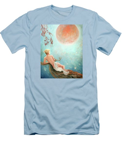 Strawberry Moon Nymph Men's T-Shirt (Athletic Fit)