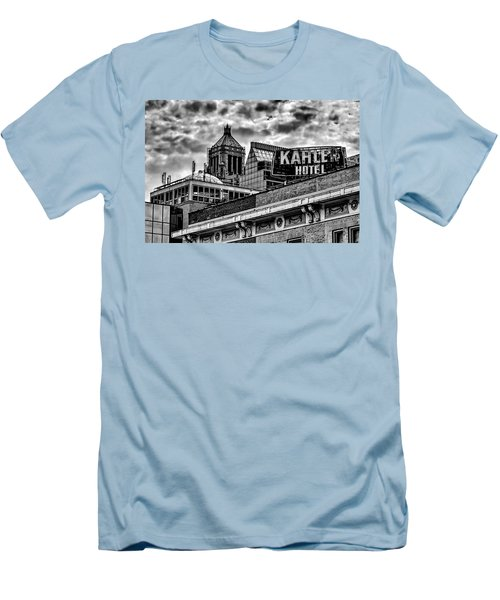 Men's T-Shirt (Slim Fit) featuring the photograph The Gathering Storm by Tom Gort