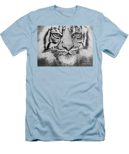 Tiger's Eyes Men's T-Shirt (Athletic Fit)