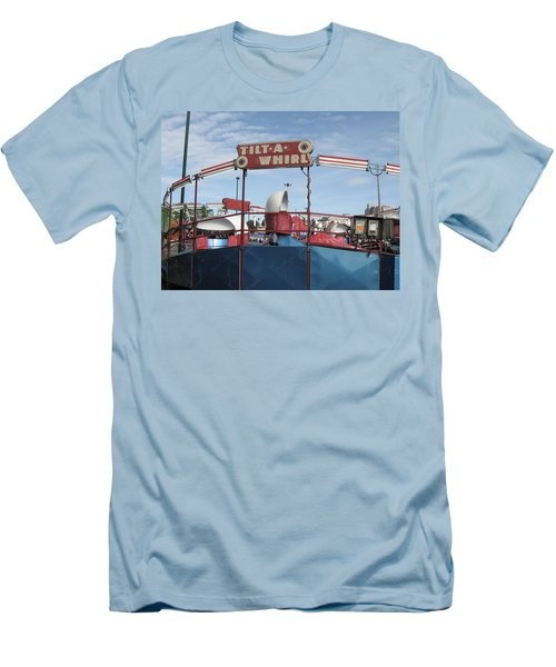 Tilt A Whirl Ride Men's T-Shirt (Athletic Fit)