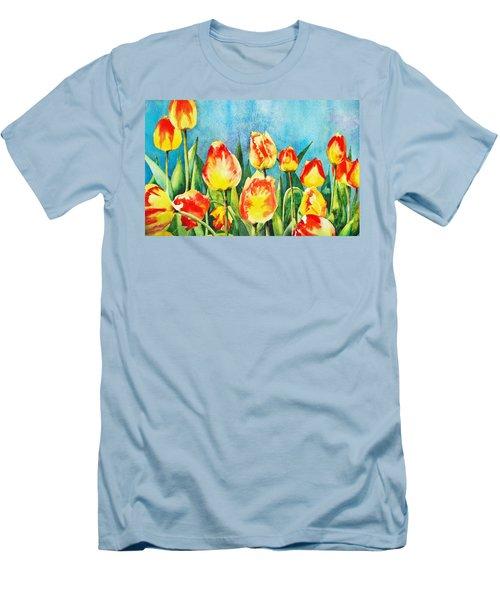 Tulips Men's T-Shirt (Slim Fit)