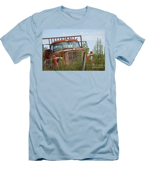 Turned Out To Pasture Men's T-Shirt (Slim Fit) by Wilma  Birdwell