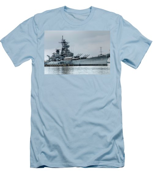 Uss New Jersey Men's T-Shirt (Athletic Fit)