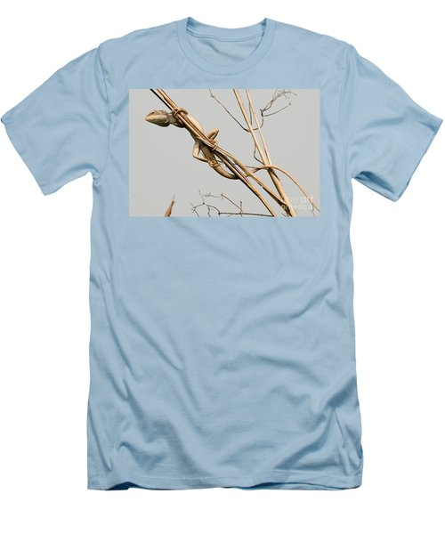 Men's T-Shirt (Slim Fit) featuring the photograph Vantage Point by Fotosas Photography