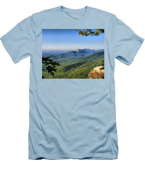 Men's T-Shirt (Slim Fit) featuring the photograph View From Caesar's Head by Lynne Jenkins