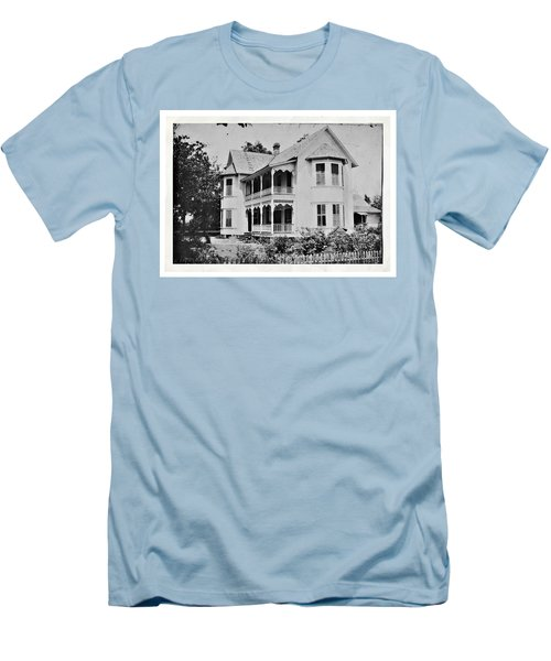 Vintage Victorian House Men's T-Shirt (Athletic Fit)