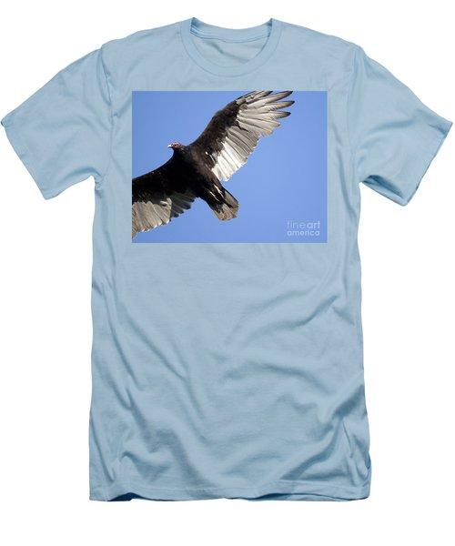 Vulture Men's T-Shirt (Slim Fit) by Jeannette Hunt