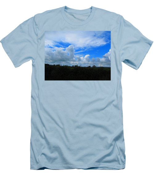 Welsh Sky Men's T-Shirt (Athletic Fit)
