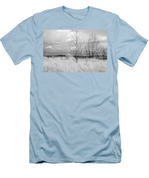Men's T-Shirt (Slim Fit) featuring the photograph Winter Bare by Kathleen Grace