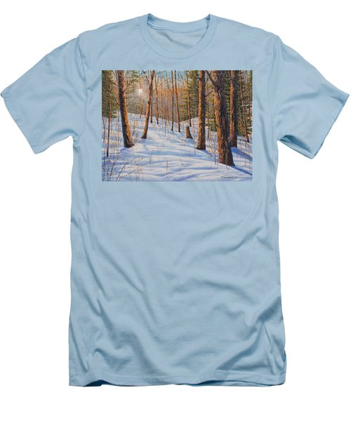 Winter Light Men's T-Shirt (Athletic Fit)