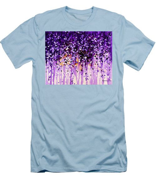 Wisteria Men's T-Shirt (Slim Fit) by Kume Bryant