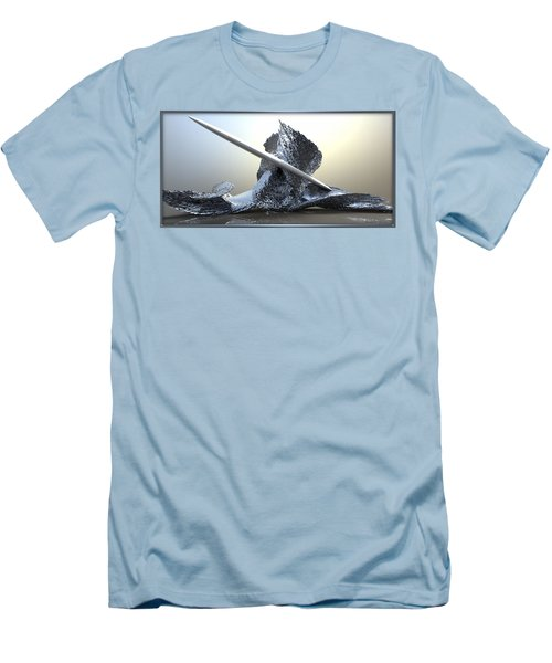 ' Big Blue Wipeout ' Men's T-Shirt (Athletic Fit)