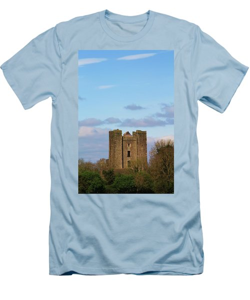 Dunsoghly Castle Men's T-Shirt (Slim Fit) by Martina Fagan