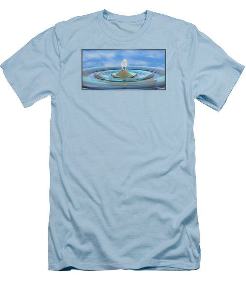 ' Sea Creature Descends ' - Digital Art Format Men's T-Shirt (Athletic Fit)