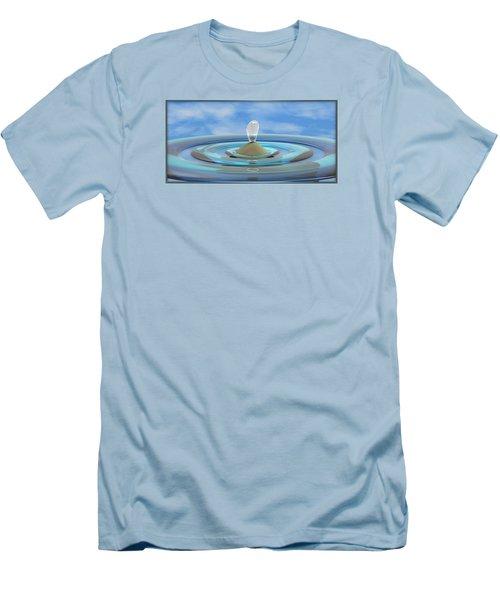 ' Sea Creature Descends ' - Digital Art Format Men's T-Shirt (Slim Fit)