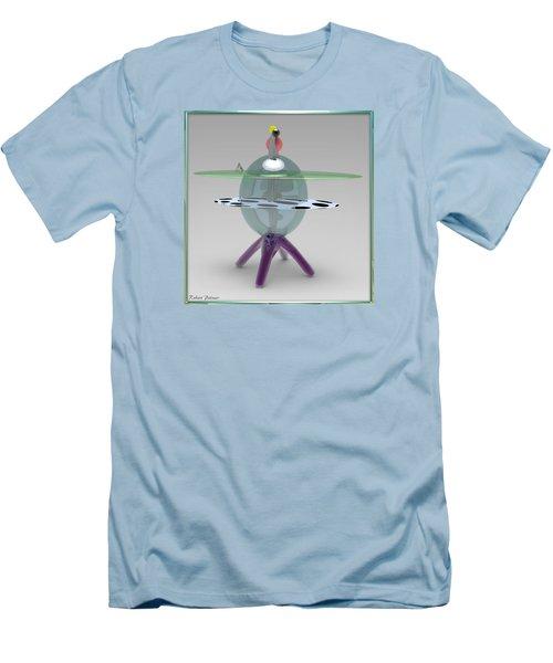 ' Sea Star Table ' Men's T-Shirt (Slim Fit)