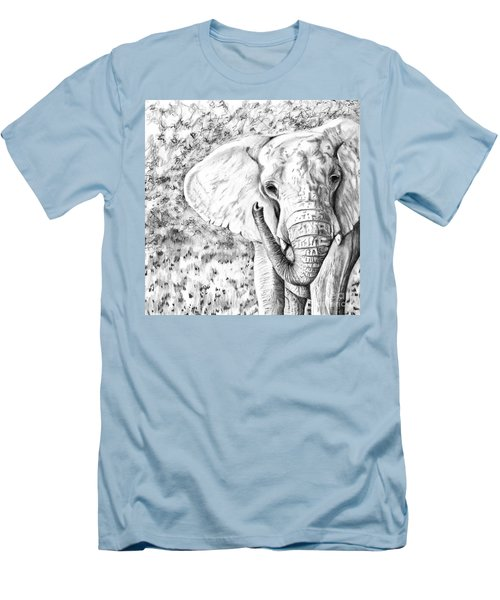 01 Of 30 Elephant Men's T-Shirt (Athletic Fit)