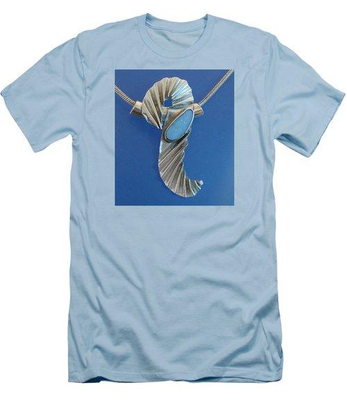 0468 Seahorse Men's T-Shirt (Slim Fit) by Dianne Brooks
