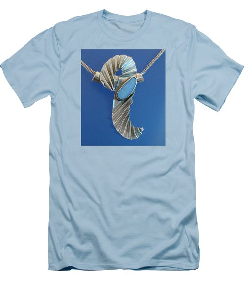 0468 Seahorse Men's T-Shirt (Athletic Fit)