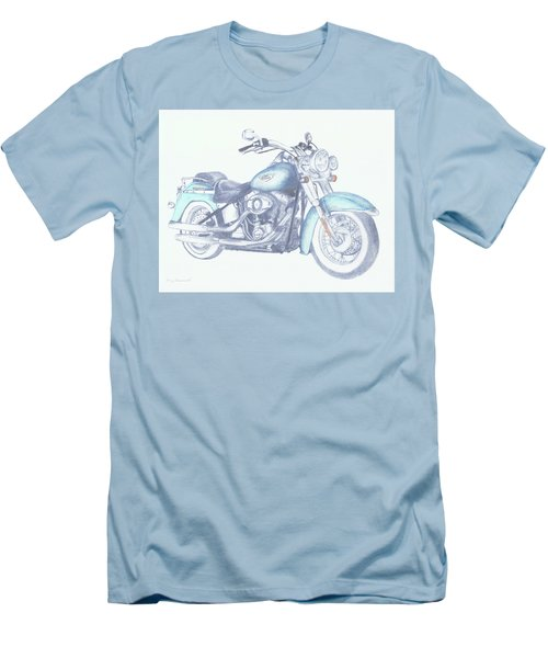 2015 Softail Men's T-Shirt (Slim Fit) by Terry Frederick