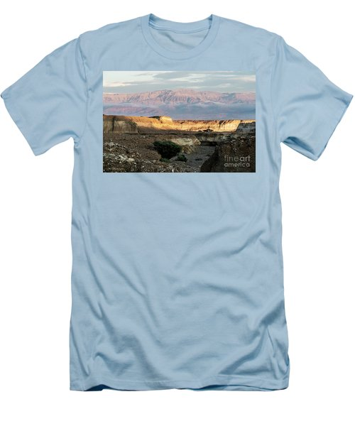 Men's T-Shirt (Slim Fit) featuring the photograph After Rain Colors 02 by Arik Baltinester
