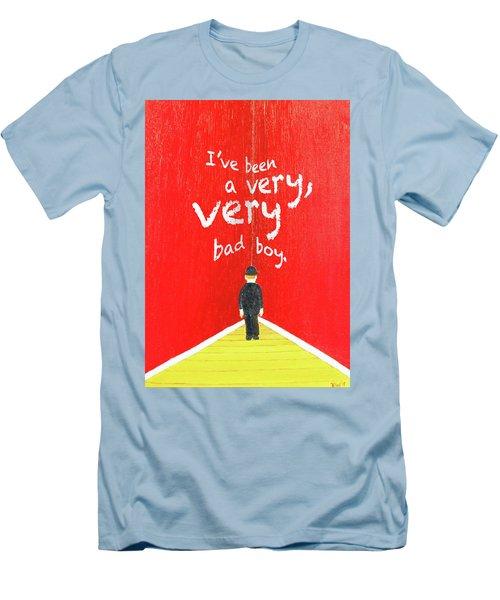 Bad Boy Greeting Card Men's T-Shirt (Athletic Fit)