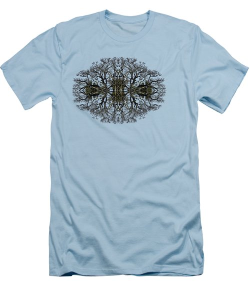Men's T-Shirt (Slim Fit) featuring the photograph Bare Tree by Debra and Dave Vanderlaan