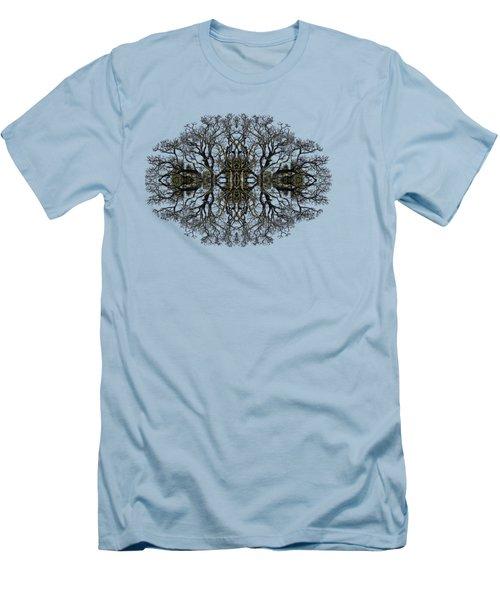 Bare Tree Men's T-Shirt (Slim Fit) by Debra and Dave Vanderlaan