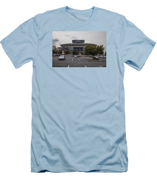 Beaver Stadium Penn State  Men's T-Shirt (Slim Fit) by John McGraw