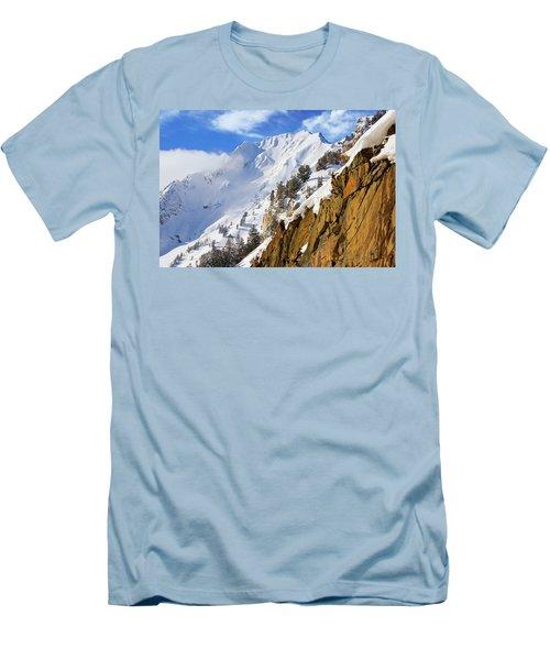 Big Cotonwood Canyon Men's T-Shirt (Athletic Fit)