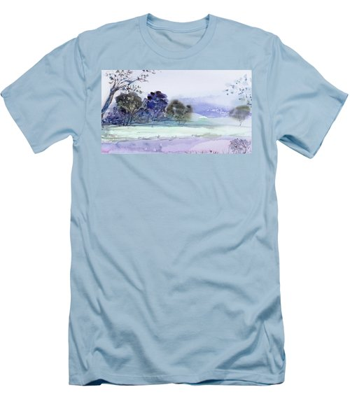 Bruny Island At Dusk Men's T-Shirt (Athletic Fit)