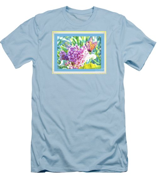 Butterfly Day 2 Men's T-Shirt (Athletic Fit)