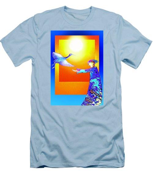 Colorful Friends Men's T-Shirt (Athletic Fit)