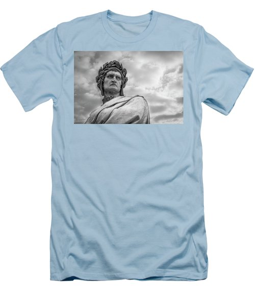 Men's T-Shirt (Slim Fit) featuring the photograph Dante Alighieri by Sonny Marcyan